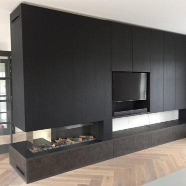 TV-meubel met haard